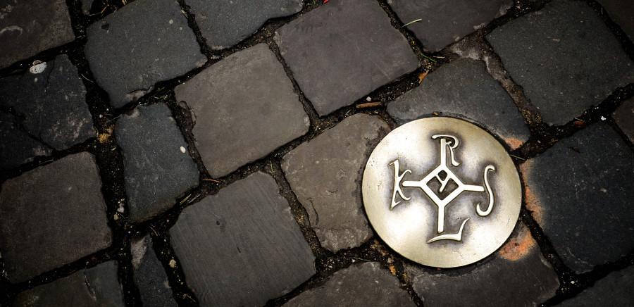Karls Unterschrift Aachen
