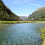 Routeburn Track Wasser