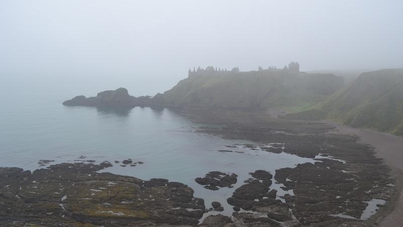 Dunnottar Castle Erster Blick