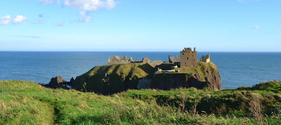 Dunnottar Castle Einblick