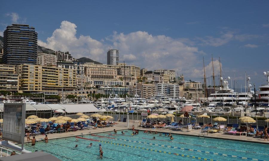 Monaco Schwimmbad