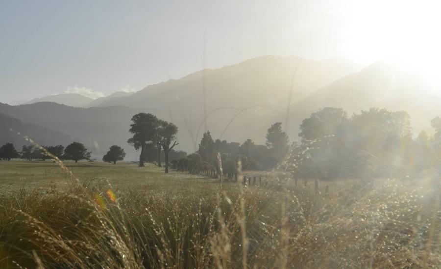 Neuseeland Sonnenaufgang