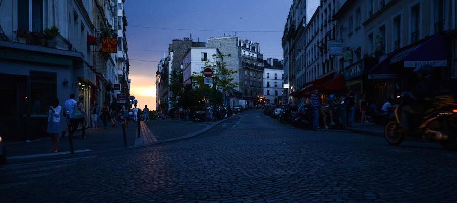Paris Montmartre Straße