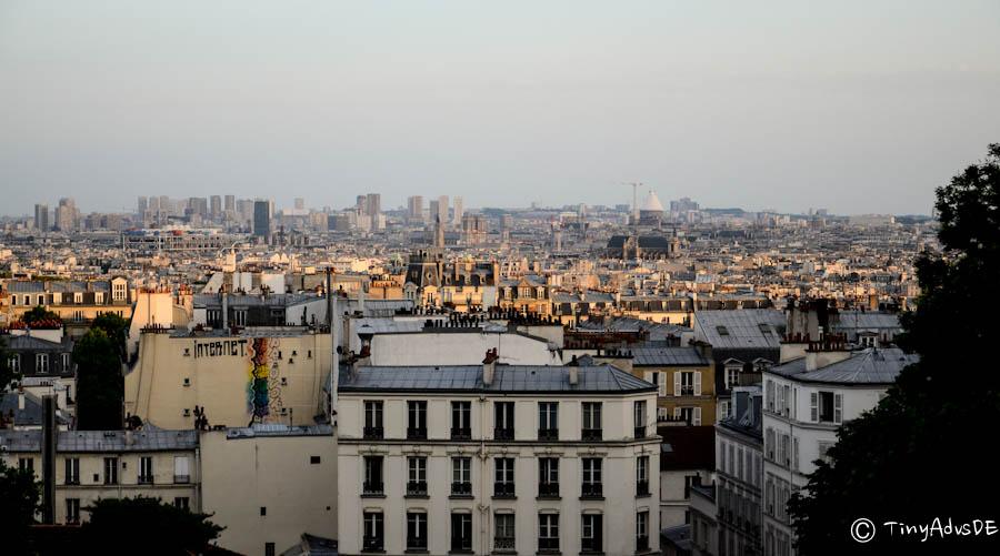 Paris Montmartre Ausblick