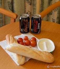 Picknick im Hotel