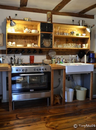 Gutshaus Below Küche