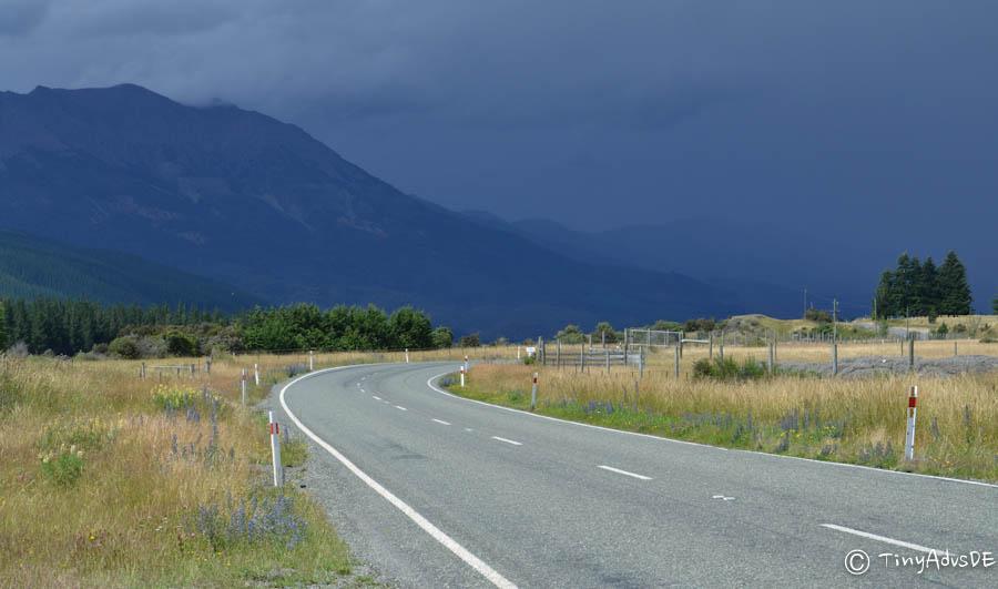 Straße Neuseeland