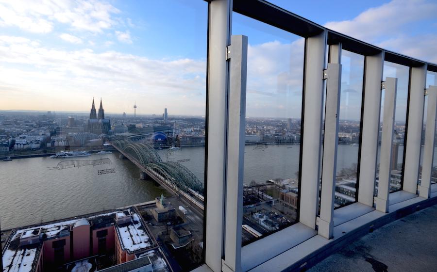 KölnTriangel Ausblick