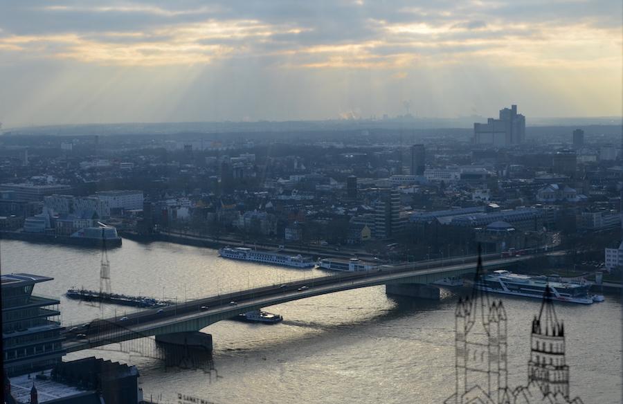 Kölntrriangel Brücke