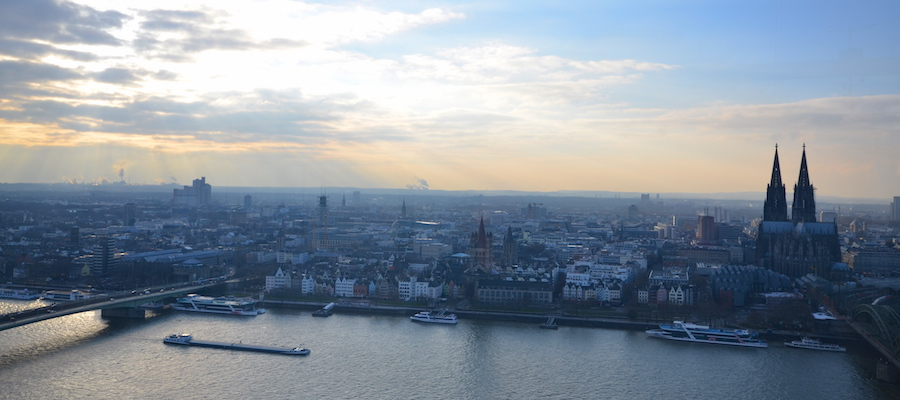 KölnTriangel Panorama