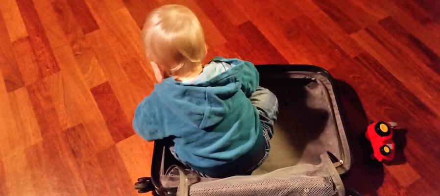 Baby Reisegepäck