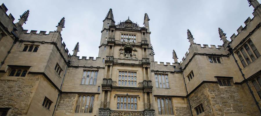 Oxford im Regen