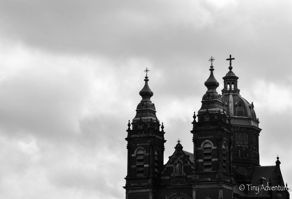 Amsterdam Schwarz-Weiß