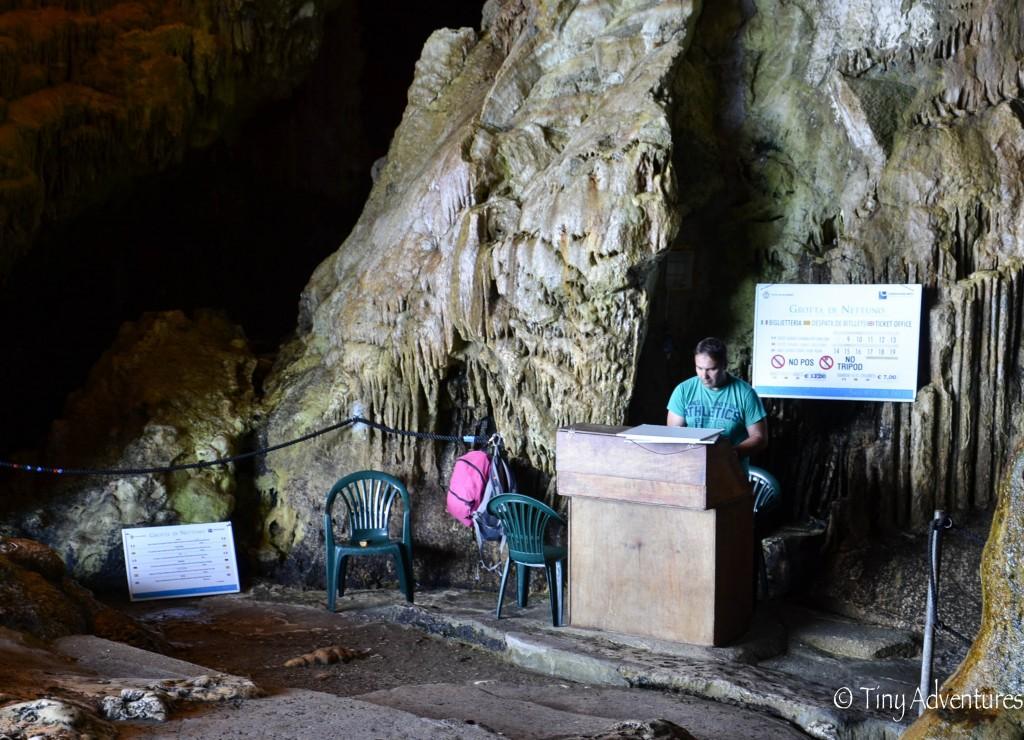 Grotta di Nettuno Aufbau